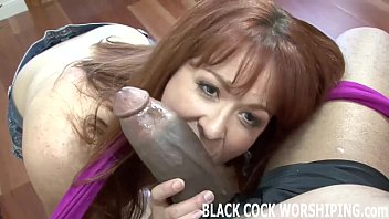 Hot Redhead Takes Double Anal