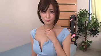 Lovely Japanese gal moans while played with