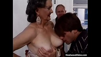 MILF With Three Cocks