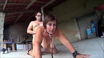 Thrashing hot babes pussy